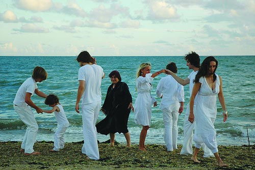 The Beaches of Agnes: Agnes Varda and her family