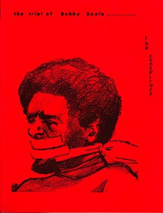 bobby seale bound and gagged court cartoon jpg