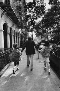 Emily, William and Sarah Kunstler in NYC