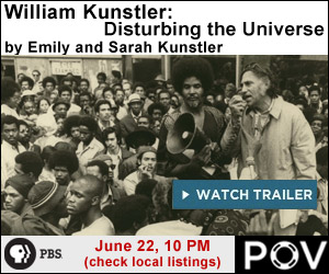 William Kunstler: Disturbing the Universe - tune in