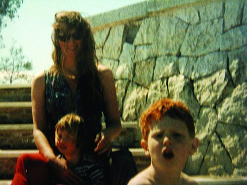 The Edge of Dreaming: Amy Hardie with two of her children
