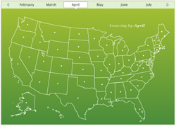 Food, Inc.: Seasonal Ingredient Map from epicurious.com