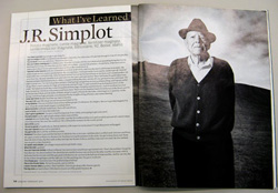 Food, Inc. - Esquire article about J.R. Simplot