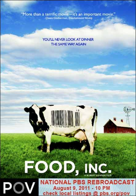 Food, Inc. Movie Poster with 2011 Encore Date - JPEG