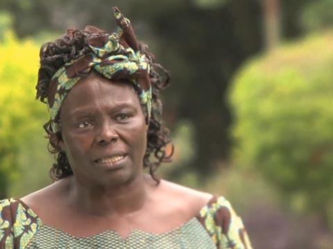Kenyan Environmentalist Wangari Maathai