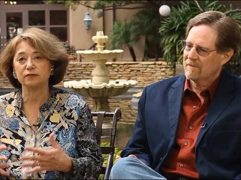 Judith Ehrlich and Rick Goldsmith (PBS Press Tour)