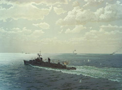 Gulf of Tonkin incident. Source: U.S. Navy Historical Center, Washington Navy Yard / WikiCommons
