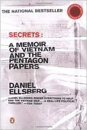 The Most Dangerous Man in America - Secrets, Ellsberg Memoir Book Cover
