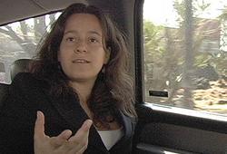 Presumed Guilty filmmaker in car jpg