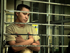 Presumed Guilty Tono in prison jpg