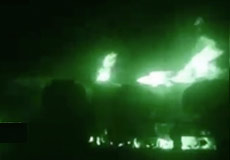 Platoon Commander Rasmus is Hit by a Roadside Bomb