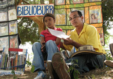 A Visit From Biblioburro