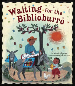 'Waiting for the Biblioburro' Book Cover