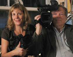 Chris Hegedus and D. A. Pennebaker
