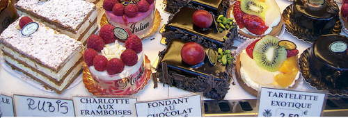 Image of French pastries