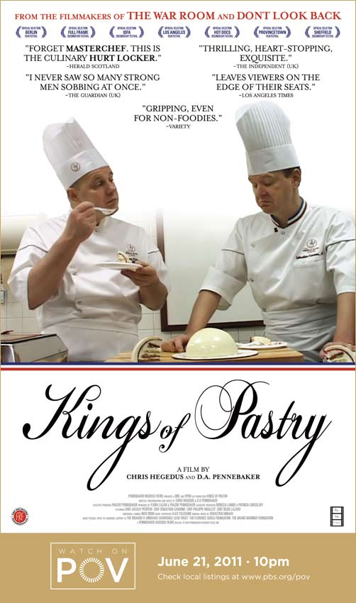 Kings of Pastry movie poster with POV air date (image)