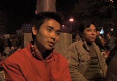 Interviews at Guangzhou Train Station
