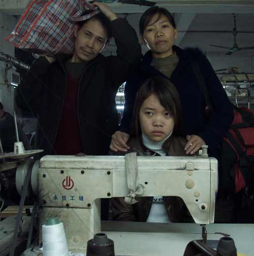 The Zhang family
