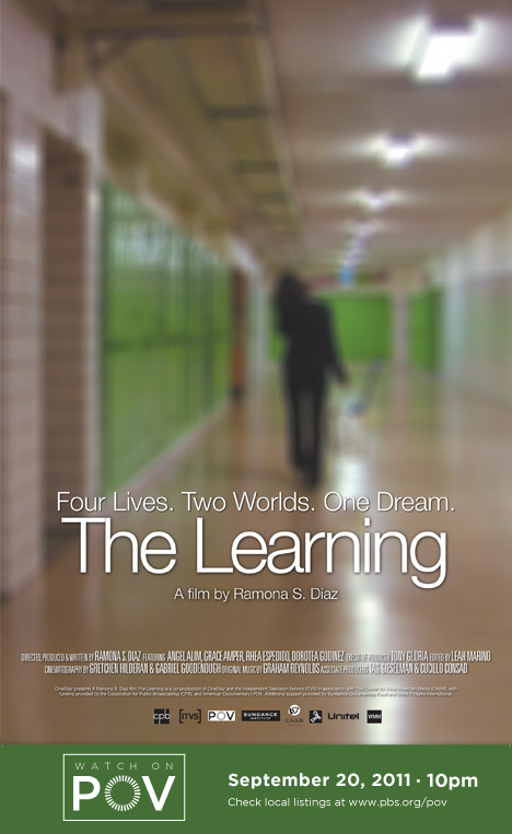 The Learning movie poster with POV air date (image)