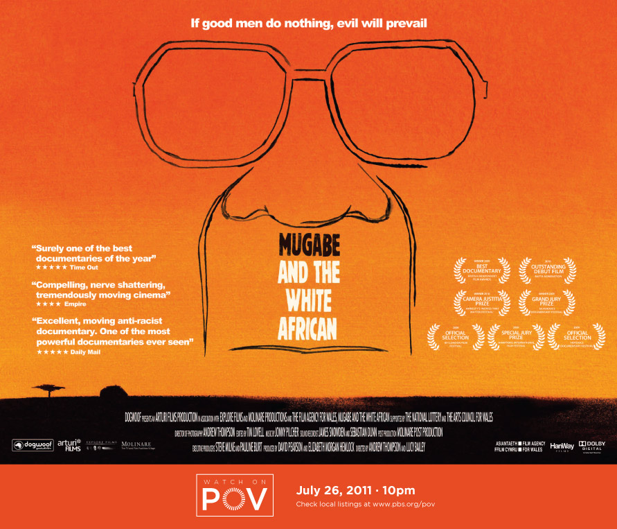Mugabe movie poster with POV air date (image)