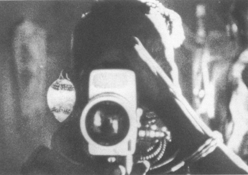 Filming the filmmakers: Longole, from 'A Wife Among Wives' (1982), pictured shooting David and Judith MacDougall. (Fieldwork Films)