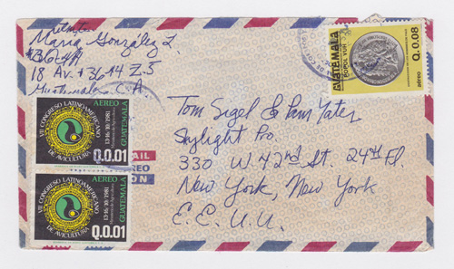Envelope for a letter sent from Guatemala