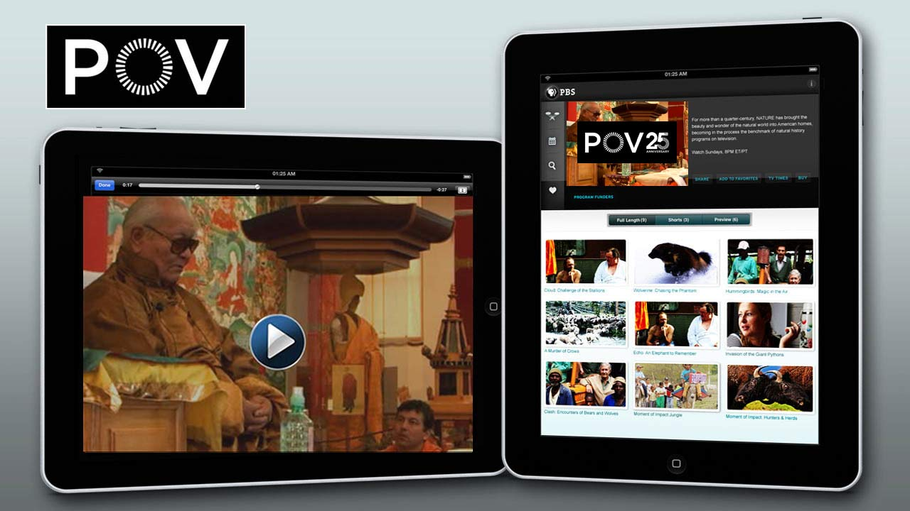 PBS iPad image with My Reincarnation