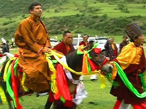 Yeshi Visits Tibet