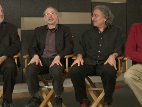 Louis Alvarez, Andrew Kolker, Peter Odabashian and Paul Stekler