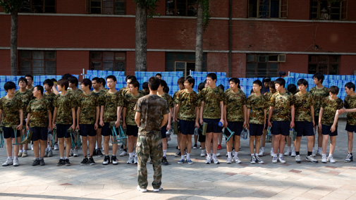 Military style training