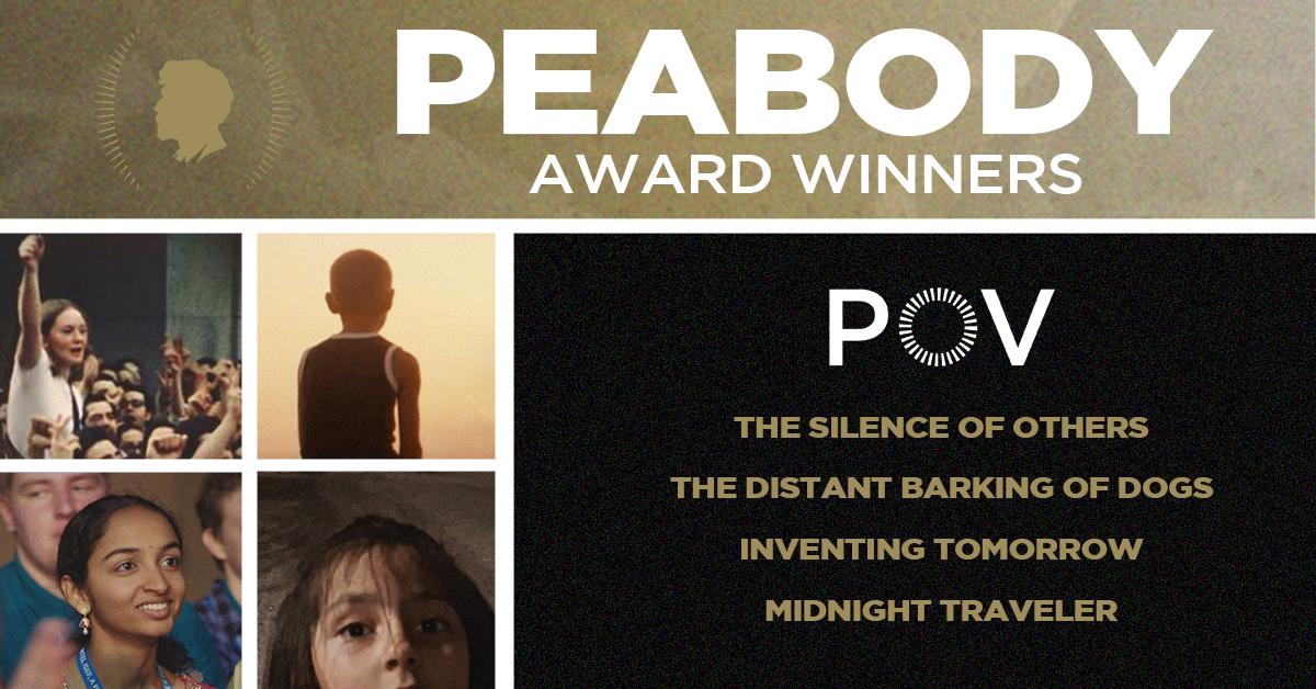 POV Wins Historic Four Peabody Awards in Documentary Category
