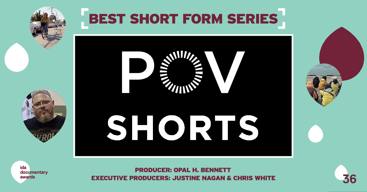 POV Shorts' Season 3 Wins Best Short Form Series at the 36th Annual IDA Awards